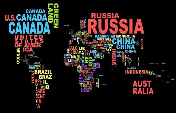разные страны