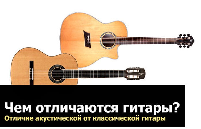 разные гитары