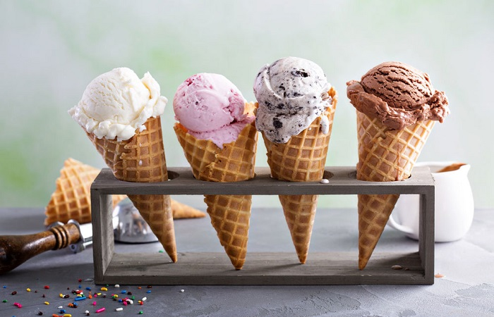 рожок мороженое
