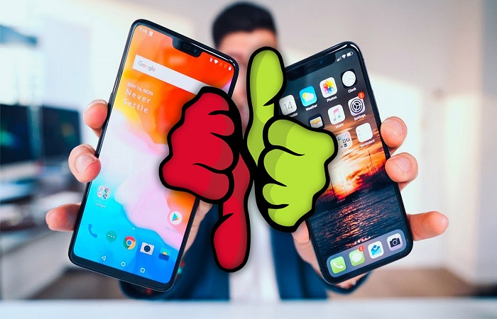 два смартфона