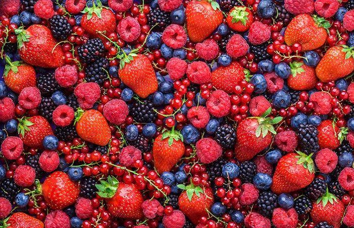 ягоды спелые