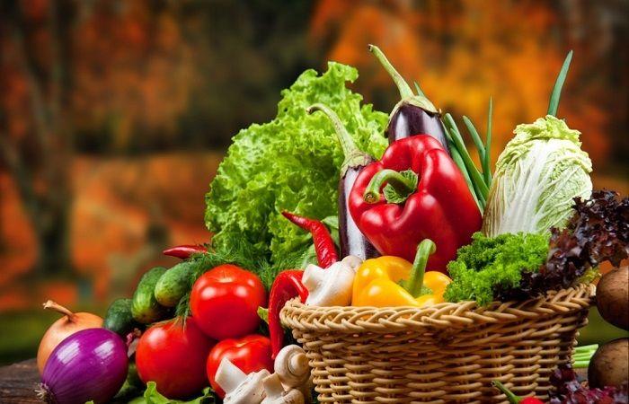 пища зеленая