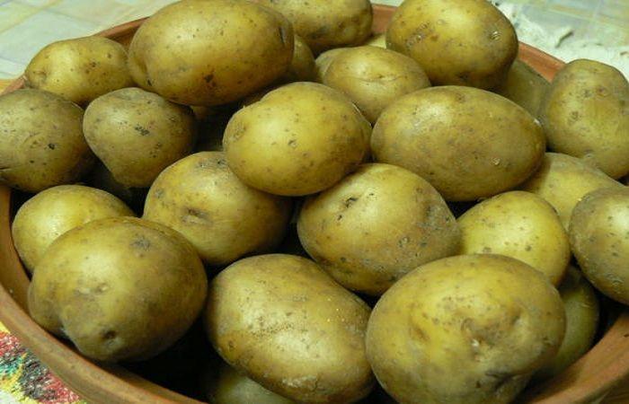 миска картошки