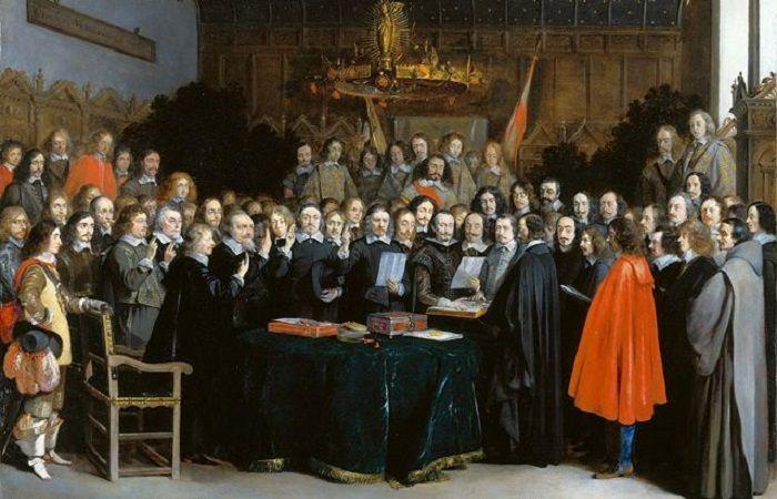 процесс протестантов