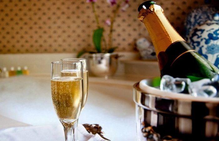 шампанское бутылка