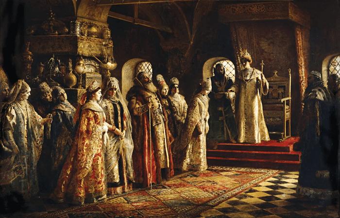 бояри и царь