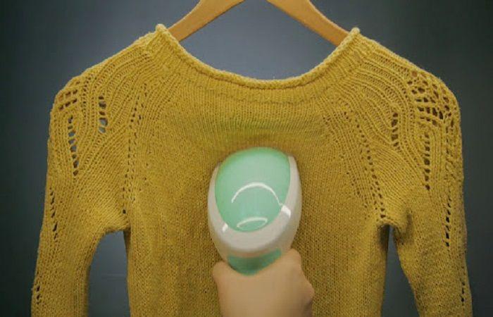 гладить свитер